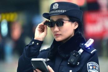 Lunettes de reconnaissance facile utilsées par les forces de l'ordre chinoises